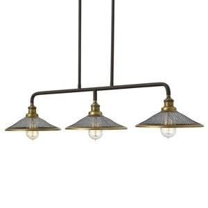 HINKLEY Závesná lampa Rigby troj-plameňová