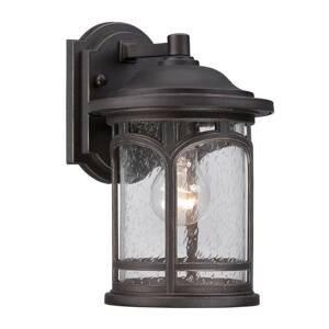 QUOIZEL Vonkajšie nástenné svietidlo Marblehead výška 28cm