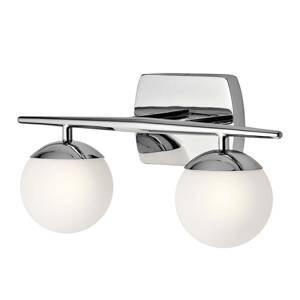 KICHLER Kúpeľňové nástenné LED svetlo Jasper 2-plameňové