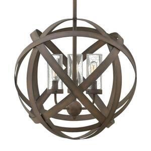 HINKLEY Carson – ručne kovaná vonkajšia závesná lampa