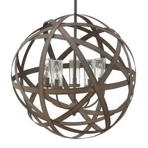 HINKLEY Ručne kovaná vonkajšia závesná lampa Carson 5pl.