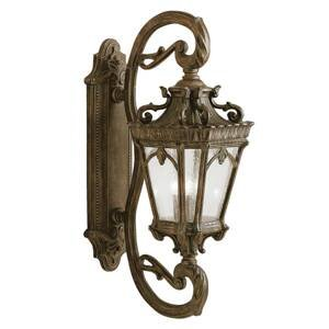 KICHLER Klasické starožitné vonkajšie svietidlo Tournai