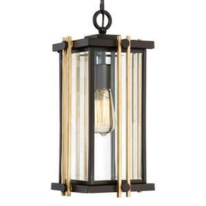 QUOIZEL Závesná lampa Goldenrod pre vonkajšiu oblasť