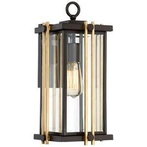 QUOIZEL Vonkajšie nástenné svietidlo Goldenrod medium 41,3