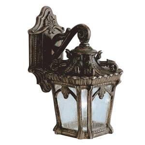 KICHLER Vonkajšie nástenné svietidlo Tournai antické