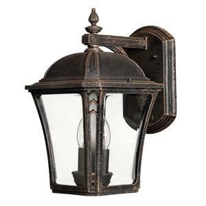 HINKLEY Vonkajšie nástenné svietidlo Wabash M výška 34,9cm