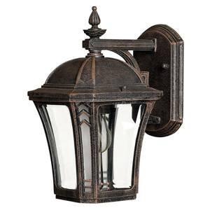 HINKLEY Vonkajšie nástenné svietidlo Wabash S výška 26,5cm