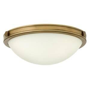 FEISS Stropné svietidlo Collier mosadzný povrch 34,6