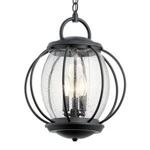 KICHLER Závesná lampa Vandalia 3-plameňová