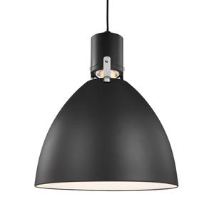 FEISS Závesné LED svietidlo Brynne matné čierne