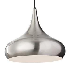 FEISS Závesná lampa Beso brúsená oceľ Ø 45,6cm