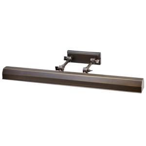 Elstead Obrazové svetlo Chawton, tmavý bronz 65,2cm
