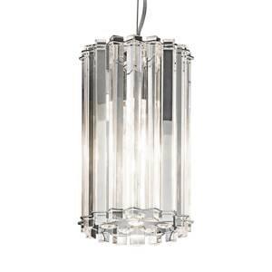 KICHLER Závesné LED svietidlo Crystal Skye Ø 16,7cm