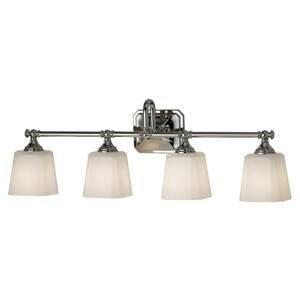 FEISS Nástenné LED svietidlo Concord do kúpeľne 4-pl.