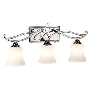 Elstead Nástenné LED svietidlo Brooke 3-plameňové