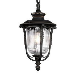 Elstead Závesná lampa Luverne do exteriéru