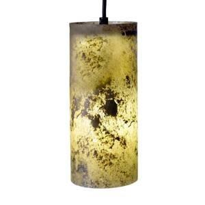 Epstein Kvalitná závesná lampa v prírodnej bridlici