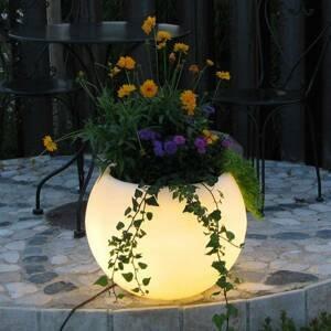Epstein LED kvetináč Flora batéria diaľkové ovládanie RGB
