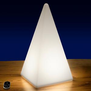 Epstein Vonkajšia dekoračná LED Pyramída s batériou 54 cm