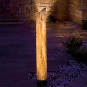 Epstein Svietiaci LED stĺpik Sahara s pieskovcom, 170 cm