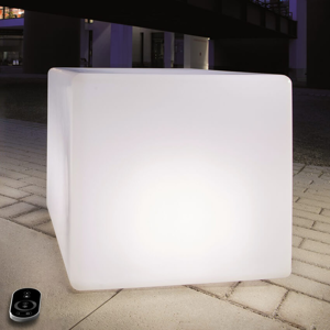 Epstein Stmievateľná kocka s diódami LED a batériou 35cm