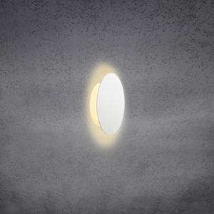 Escale Escale Blade nástenné LED svetlo, biele, Ø 18cm