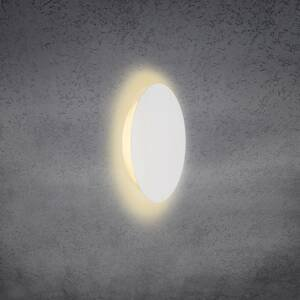 Escale Escale Blade nástenné LED svetlo, biele, Ø 24cm