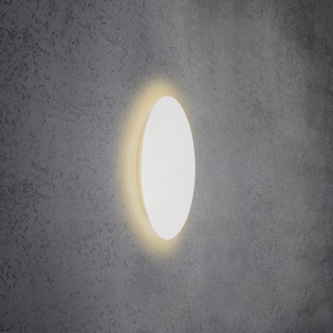 Escale Escale Blade nástenné LED svetlo, biele, Ø 44cm