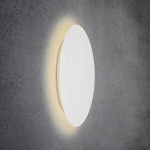Escale Escale Blade nástenné LED svetlo, biele, Ø 79cm