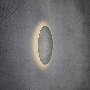 Escale Escale Blade nástenné LED, vzhľad betón, Ø 44cm