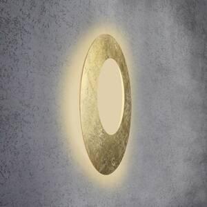 Escale Escale Blade Open nástenné LED lístkové zlato Ø 79
