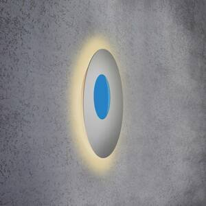Escale Escale Blade Open nástenné LED RGB+W striebro Ø59