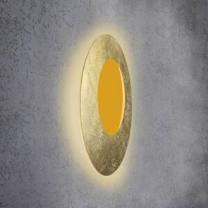 Escale Escale Blade Open nástenné LED RGB+W zlatá Ø79cm
