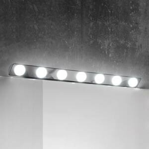 Ebir Zrkadlové LED svietidlo Hollywood, 85cm 7-pl.