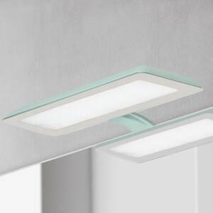 Ebir Zrkadlové LED Nikita, akvamarín/oceľovosivá
