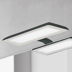 Ebir Zrkadlové LED svietidlo Nikita, čierna/oceľovosivá