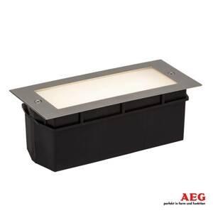 AEG AEG Wall nástenné zapustené LED svetlo satinované