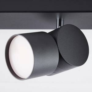 AEG AEG Twine stropné LED svietidlo, čierna, 4-pl.