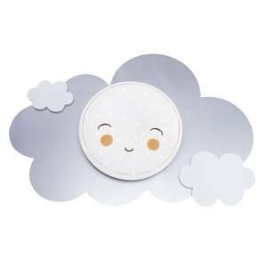 Elobra Nástenné LED Obrázkový oblak Starlight Smile Ag