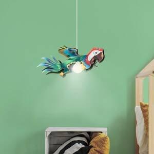 Elobra Závesná lampa Papagáj