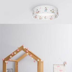 Elobra Stropné LED svietidlo Jednorožec Babsy Starlight