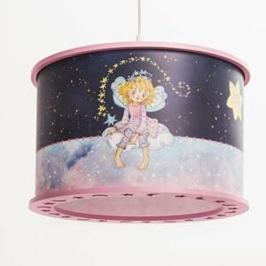 Elobra Závesná lampa Princezná Lillifee, Hviezdne čaro