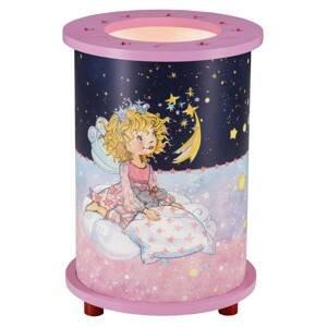 Elobra Stolná lampa Princezná Lillifee, Hviezdne čaro