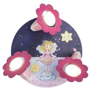 Elobra Stropné svietidlo Princezná Lillifee Hviezdne čaro
