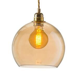 EBB & FLOW EBB & FLOW Rowan závesná lampa zlatá/zlatá-dym Ø22