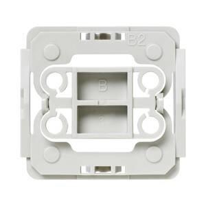 HOMEMATIC IP Homematic IP adaptér pre vypínač Berker B2 1x