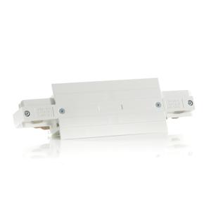 EUTRAC Eutrac I-konektor pre montážnu koľajnicu, biely