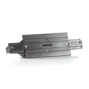 EUTRAC Eutrac I-konektor pre montážnu koľajnicu, čierny