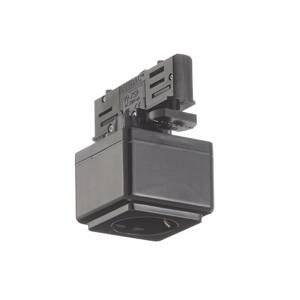 EUTRAC Eutrac zásuvkový multi-adaptér 3-fázový, čierny
