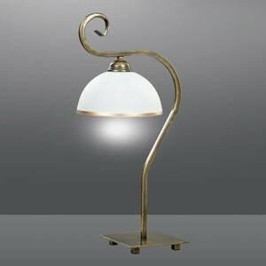 EMIBIG LIGHTING Stolná lampa Wivara LN1 v klasickom dizajne zlatá